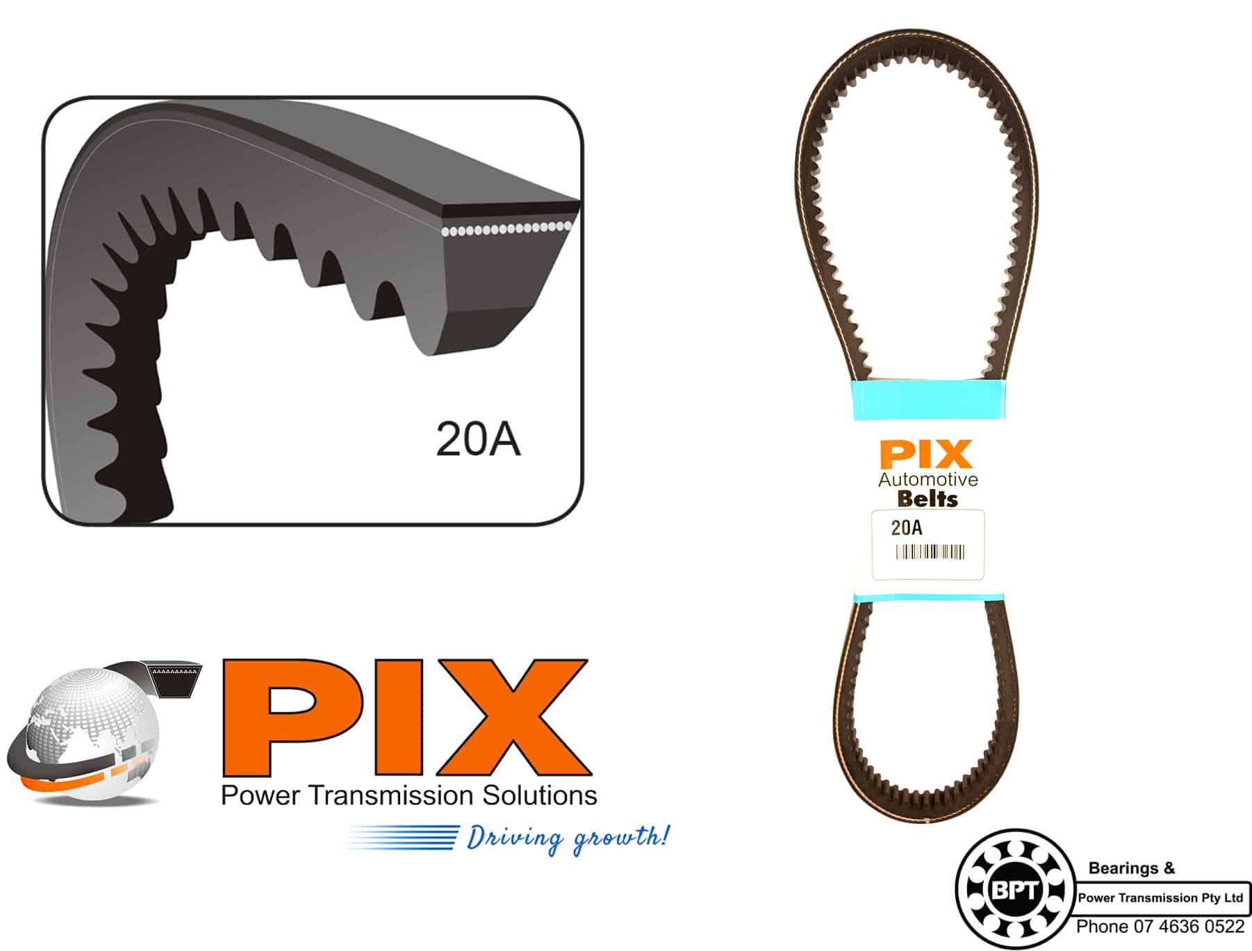 PIX 20A W