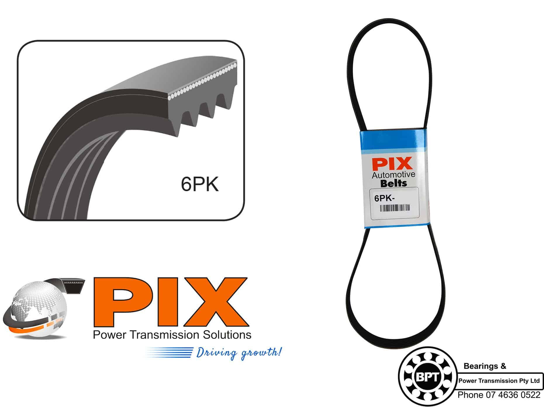 PIX 6PK W