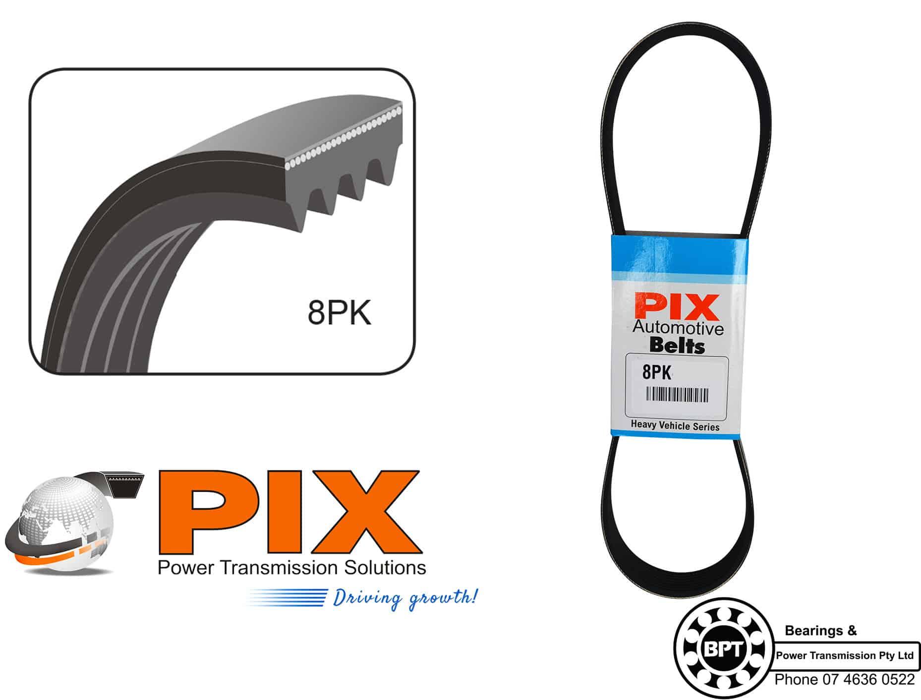 PIX 8PK W